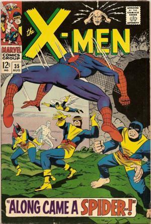 Couverture de Uncanny X-Men (The) (Marvel comics - 1963) -35- Along came a spider