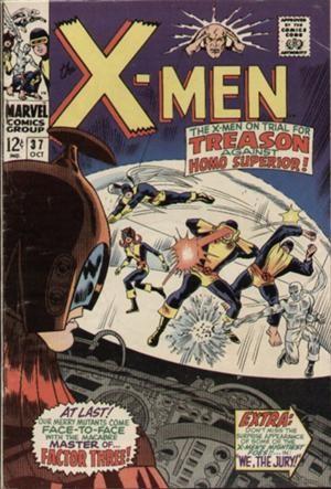 Couverture de Uncanny X-Men (The) (1963) -37- We, the jury