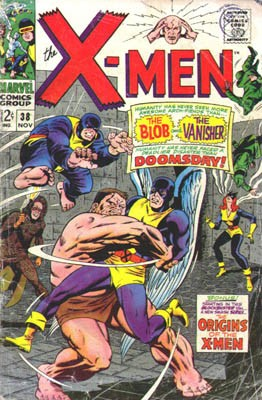 Couverture de Uncanny X-Men (The) (Marvel comics - 1963) -38- The sinister shadow of doomsday