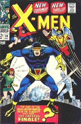 Couverture de Uncanny X-Men (The) (1963) -39- The fateful finale