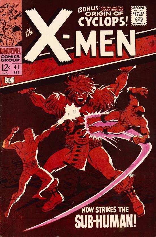 Couverture de Uncanny X-Men (The) (Marvel comics - 1963) -41- Now strikes the Sub-human