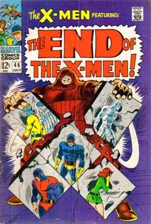 Couverture de Uncanny X-Men (The) (1963) -46- The end of the X-Men