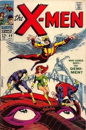 Couverture de Uncanny X-Men (The) (1963) -49- Who dares Defy... the Demi-men?