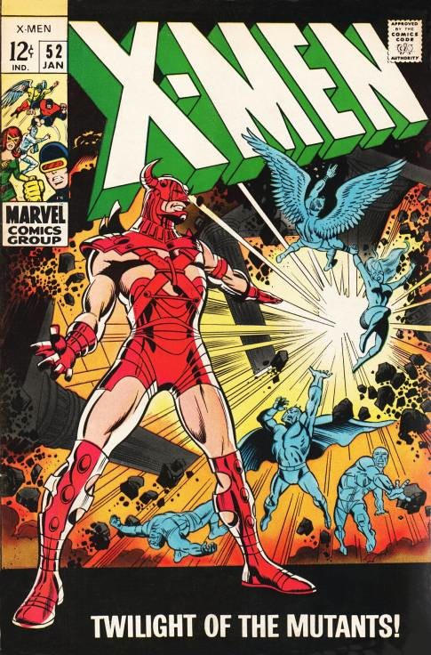 Couverture de Uncanny X-Men (The) (1963) -52- Twilight of the mutants