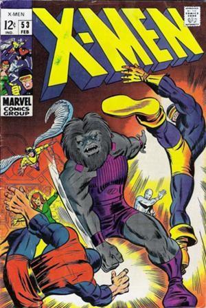 Couverture de Uncanny X-Men (The) (1963) -53- The rage of Blastaar