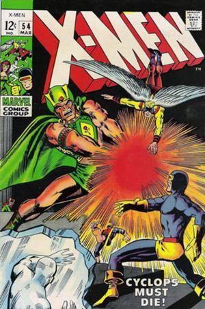 Couverture de Uncanny X-Men (The) (Marvel comics - 1963) -54- Wanted: dead or alive...Cyclops