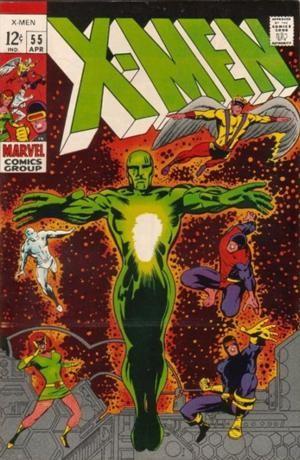 Couverture de Uncanny X-Men (The) (Marvel comics - 1963) -55- The living Pharaoh