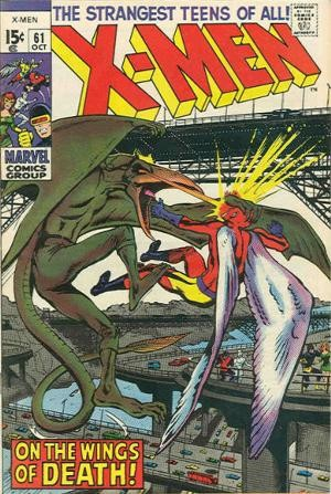 Couverture de Uncanny X-Men (The) (Marvel comics - 1963) -61- Monsters also weep