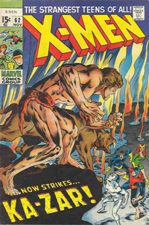 Couverture de Uncanny X-Men (The) (Marvel comics - 1963) -62- Strangers in a Savage land