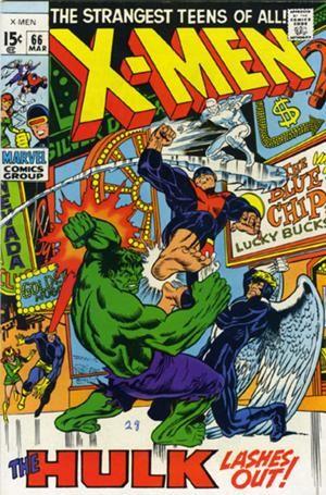 Couverture de Uncanny X-Men (The) (Marvel comics - 1963) -66- The mutants and the monster