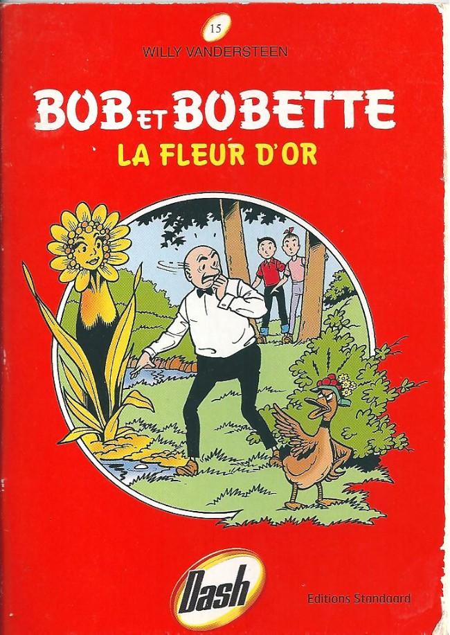 Couverture de Bob et Bobette (Publicitaire) -Da15- La fleur d'or