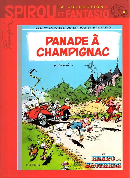 Couverture de Spirou et Fantasio - La collection (Cobra) -16- Panade à Champignac