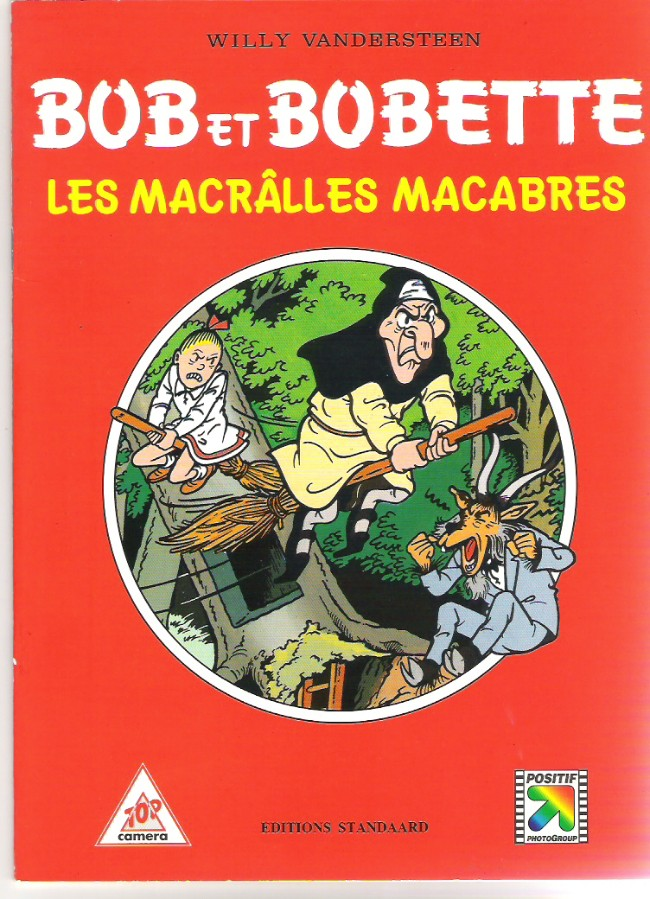 Couverture de Bob et Bobette (Publicitaire) -Ca5- Les Macrâlles Macabres