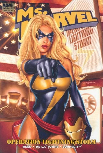Couverture de Ms. Marvel (2006) -INT03- Operation Lightning Storm