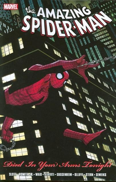 Couverture de The amazing Spider-Man Vol.1 (Marvel comics - 1963) -INT- Died In Your Arms Tonight