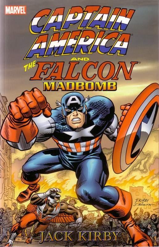 Couverture de Captain America (Marvel comics - 1968) -INT- Captain America & The Falcon: Madbomb