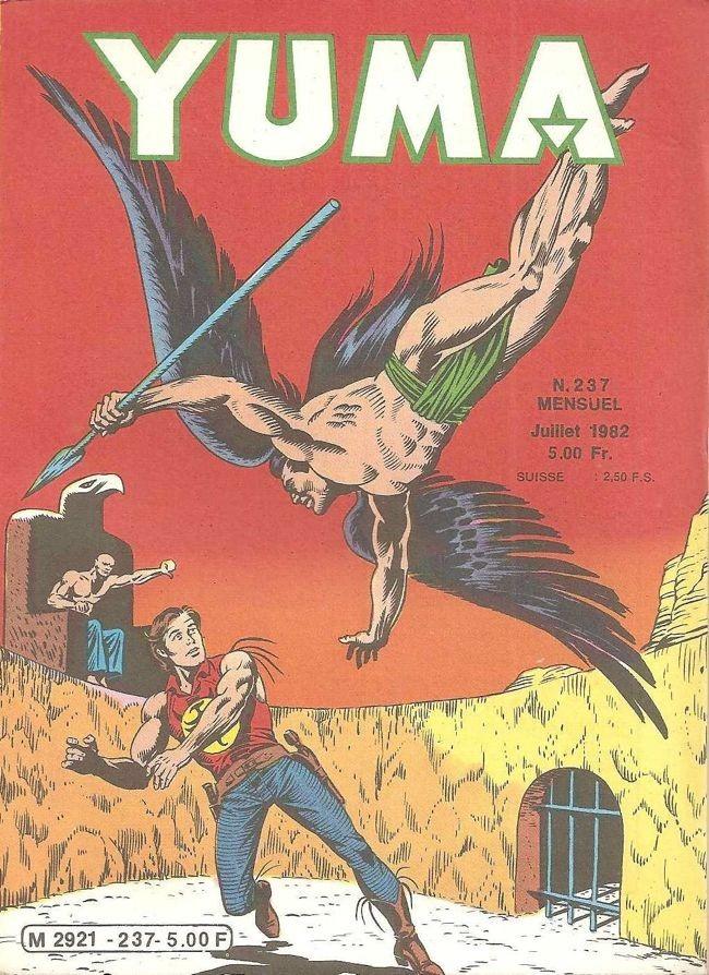 Couverture de Yuma (1re série) -237- La fin D'Ultor