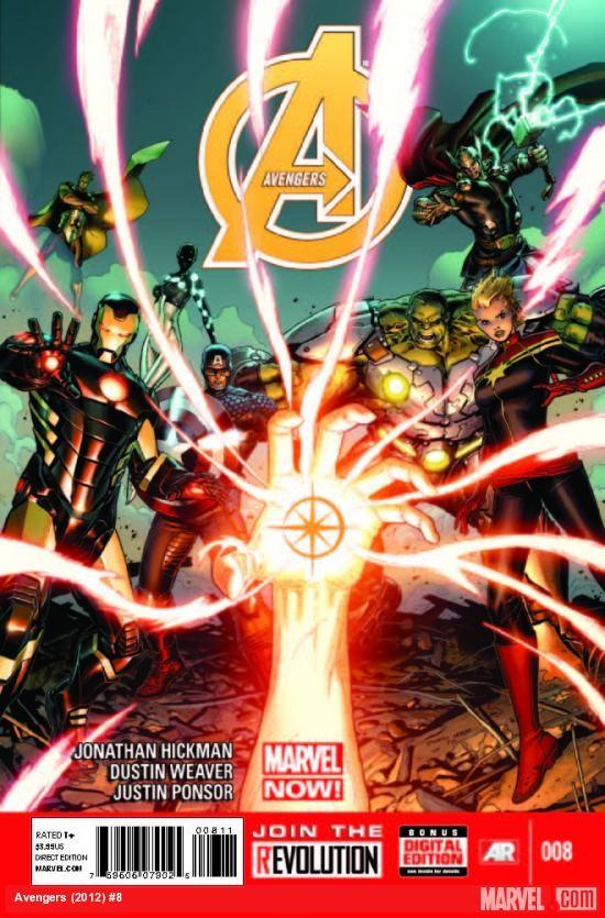 Couverture de Avengers Vol.5 (Marvel comics - 2013) -8- Starbranded