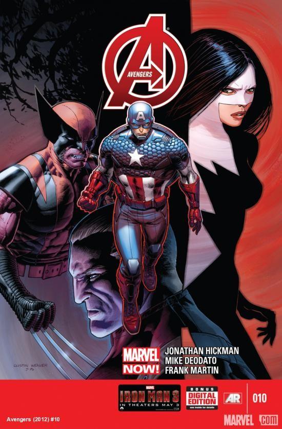 Couverture de Avengers Vol.5 (Marvel comics - 2013) -10- Validator