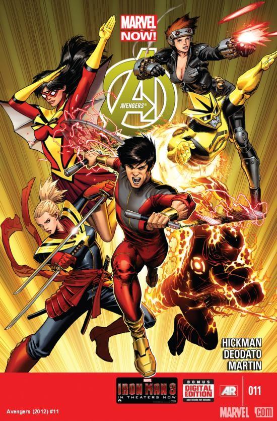 Couverture de Avengers Vol.5 (Marvel comics - 2013) -11- Wake the Dragon