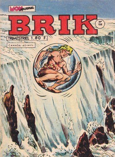 Couverture de Brik (Mon journal) -158- Le plongeon vers l'inconnu !