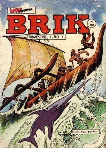 Couverture de Brik (Mon journal) -160- Agokk, le masqué