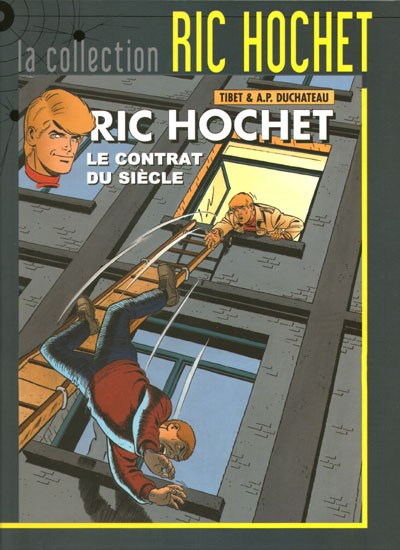 Couverture de Ric Hochet - La collection (Hachette) -64- Le contrat du siècle