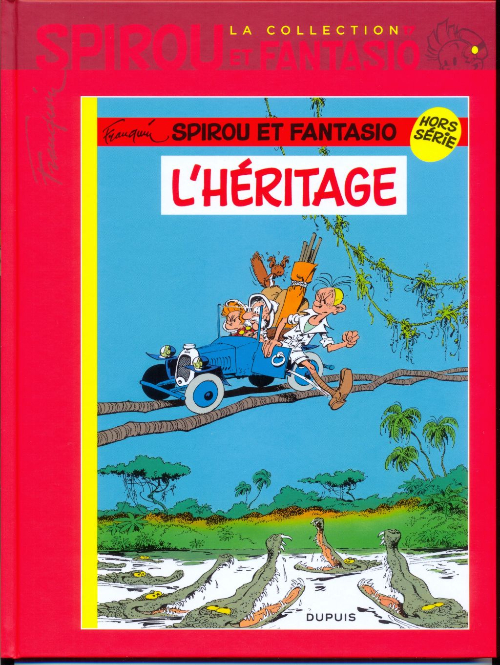 Couverture de Spirou et Fantasio - La collection (Cobra) -17- L'héritage
