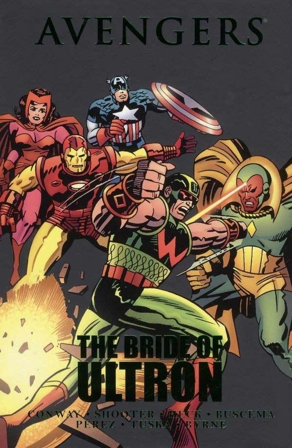 Couverture de Avengers Vol. 1 (Marvel Comics - 1963) -INT- The Bride of Ultron