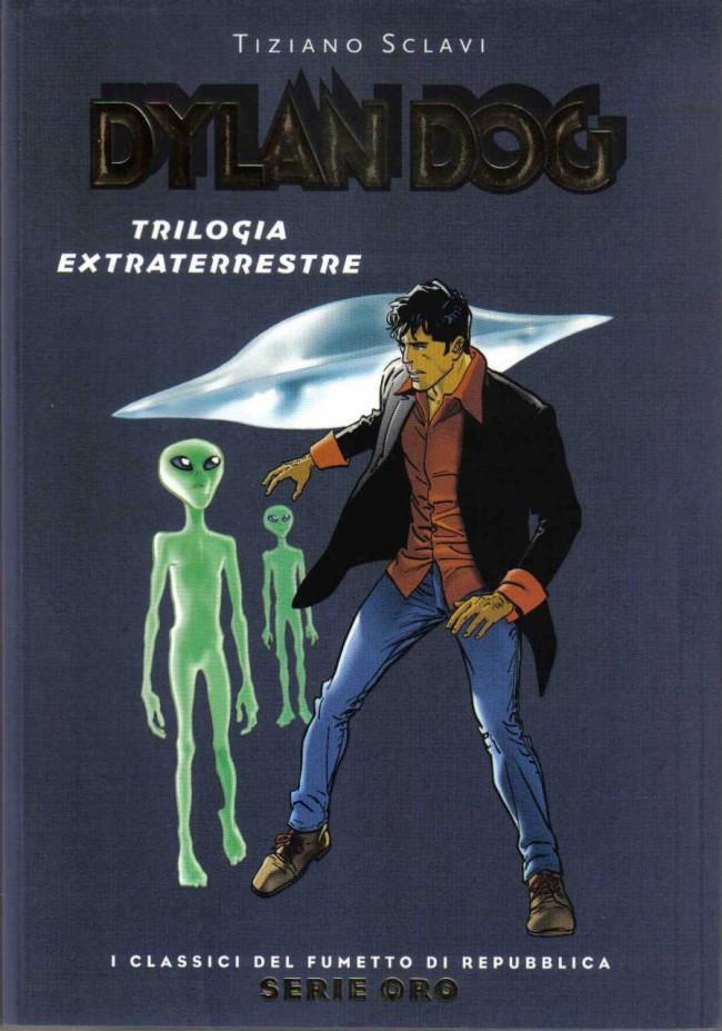 Couverture de Classici del Fumetto di Repubblica (I) - Serie Oro -11- Dylan Dog - Trilogia extraterrestre