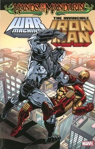 Couverture de Iron Man Vol.1 (Marvel comics - 1968) -INT- Iron Man/War Machine: Hands of the Mandarin