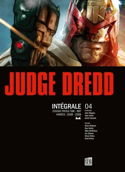 Couverture de Judge Dredd (Soleil) -INT4- Intégrale 04