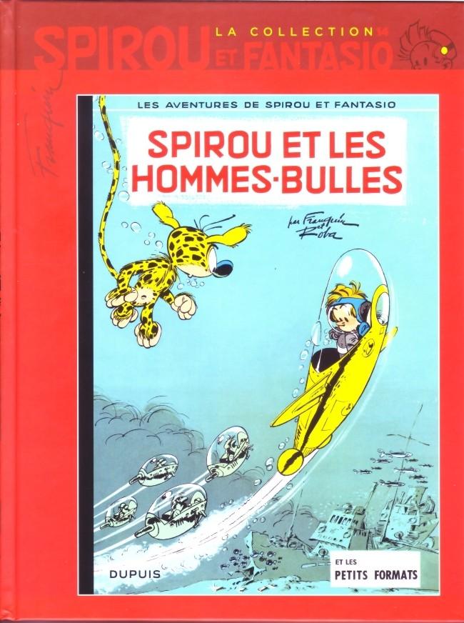 Couverture de Spirou et Fantasio - La collection (Cobra) -14- Spirou et les hommes-bulles
