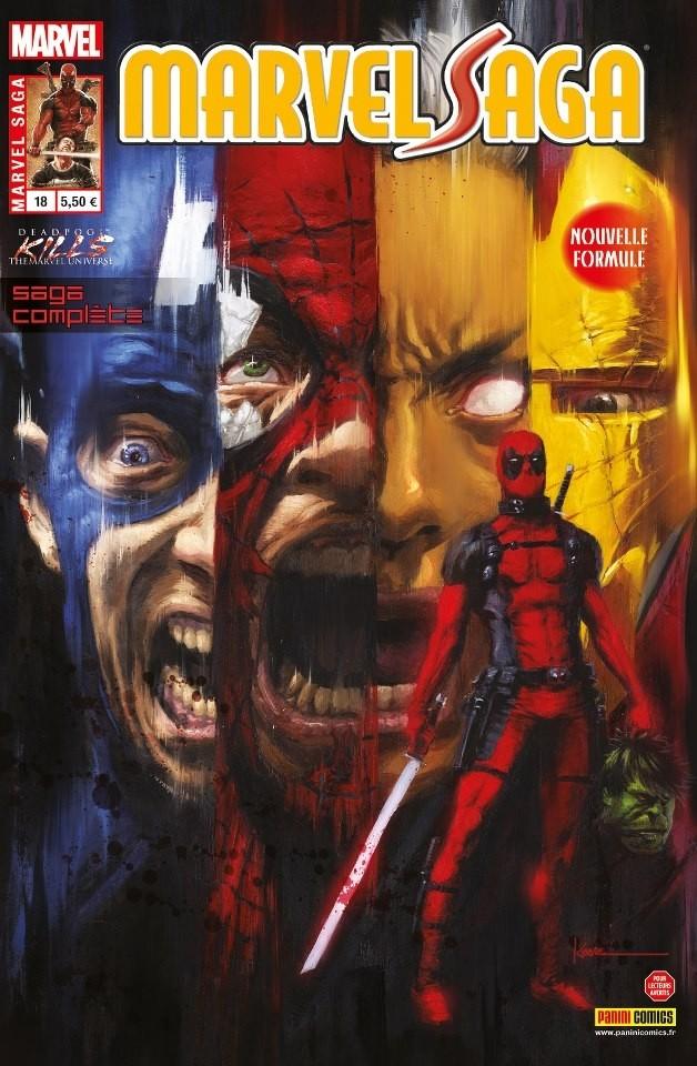 Couverture de Marvel Saga (1re série - 2009) -18- Deadpool massacre Marvel