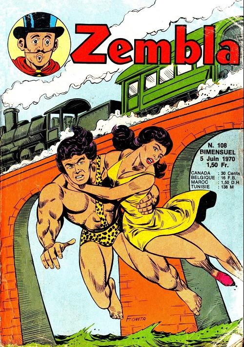 Couverture de Zembla -108- Une fille à sauver
