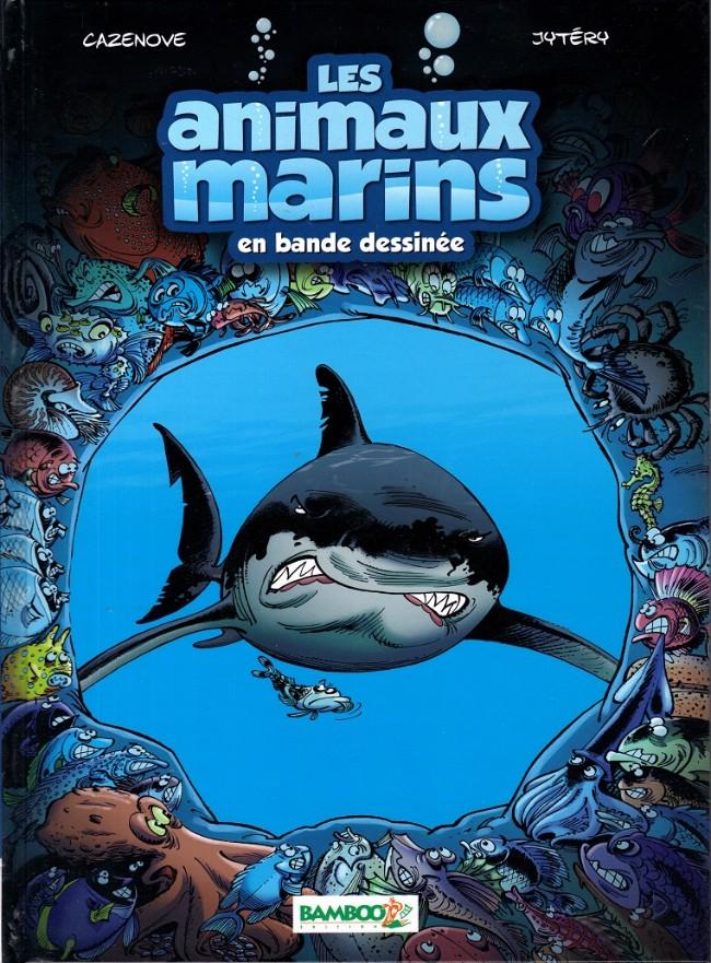 Couverture de Les animaux marins en bande dessinée - Tome 1