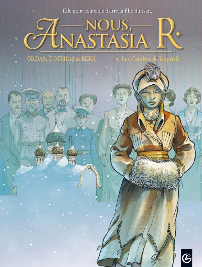 Couverture de Nous, Anastasia R. -2- Les Cendres de Koptiaki