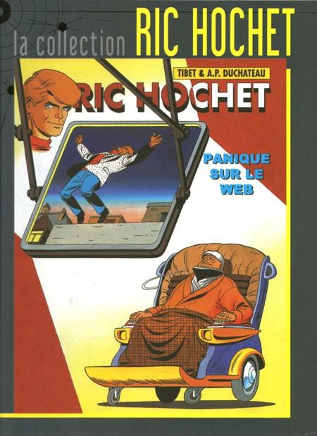 Couverture de Ric Hochet - La collection (Hachette) -65- Panique sur le Web