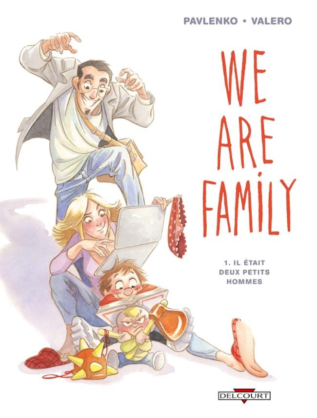 Couverture de We are family -1- Il était deux petits hommes