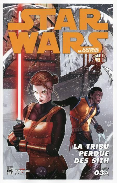 Couverture de Star Wars - Comics magazine -3A- Dossier Tom Palmer