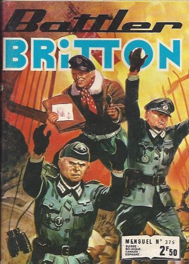 Couverture de Battler Britton (Imperia) -375- Les Défiants