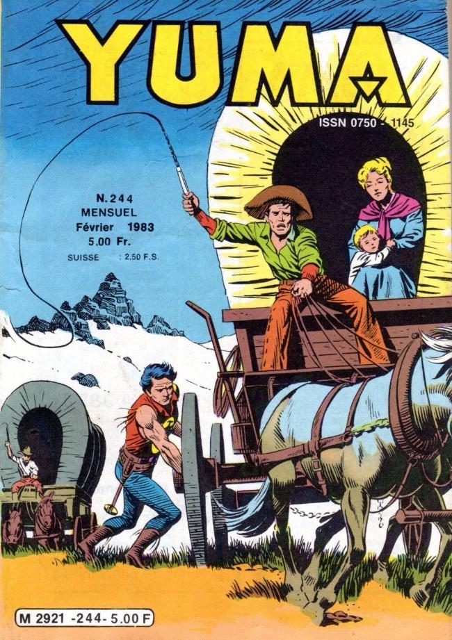 Couverture de Yuma (1re série) -244- Vers la Terre Promise !