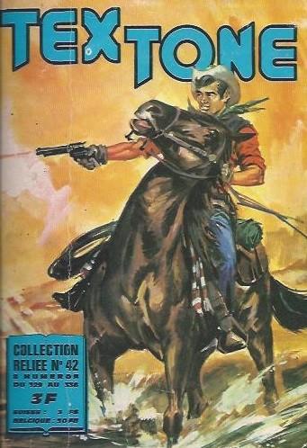 Couverture de Tex-Tone -Rec42- Collection reliée N°42 (du n°329 au n°336)