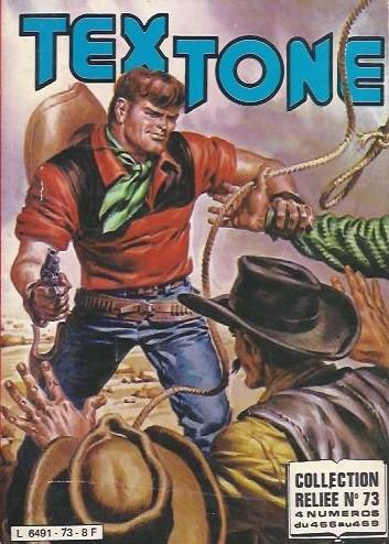Couverture de Tex-Tone -Rec73- Collection reliée N°73 (du n°466 au n°469)