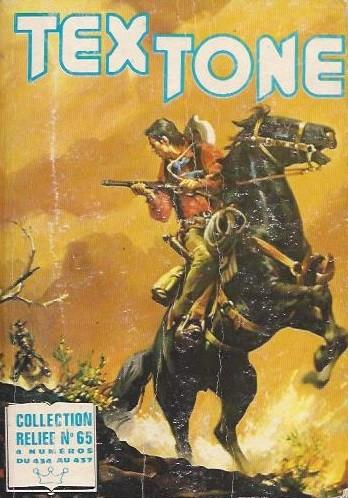 Couverture de Tex-Tone -Rec65- Collection reliée N°65 (du n°434 au n°437)