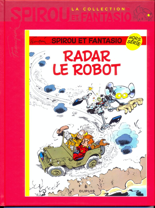 Couverture de Spirou et Fantasio - La collection (Cobra) -18- Radar le robot