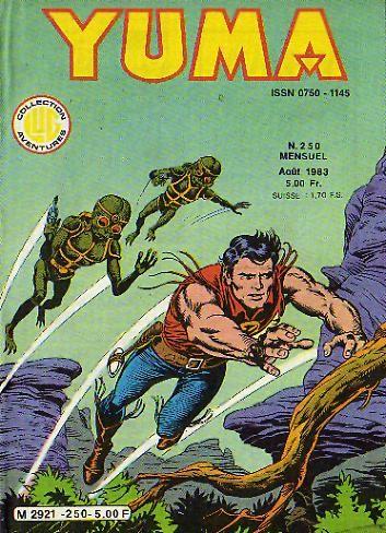 Couverture de Yuma (1re série) -250- Le Gardien du Grand Secret