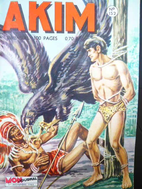 Couverture de Akim (1re série) -152- La vallée des iguanes