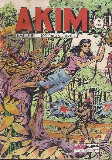 Couverture de Akim (1re série) -160- Mystérieux sortilège
