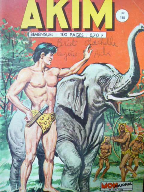Couverture de Akim (1re série) -165- Aituk le lion des monts